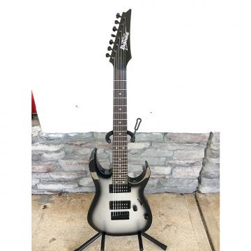Custom Ibanez GRG7221 GIO 200 RG Series 7-String HH Electric Guitar Silverburst
