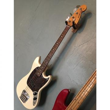 Custom Fender Mustang Bass CIJ 2007 White