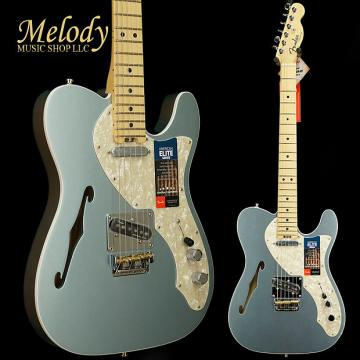 Custom Fender American Elite Telecaster Thinline, Maple Fingerboard, Mystic Ice Blue