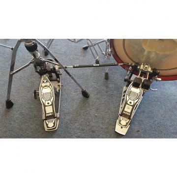 Custom Mapex Janus Double Pedal w/ HiHat attachment 2000 Chrome and Black