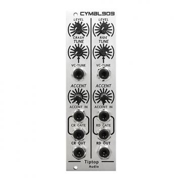 Custom Tiptop Audio CYMBL909 (demo) - Eurorack Module