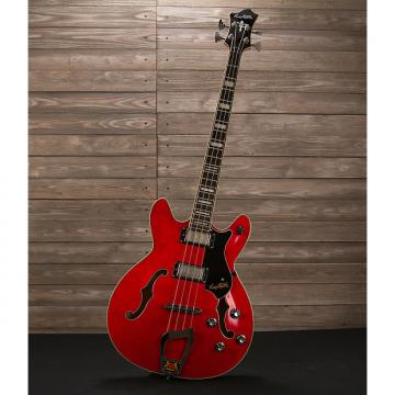 Custom Hagstrom Viking Bass Cherry
