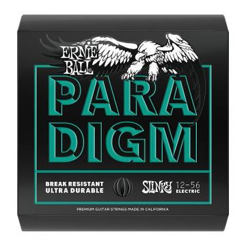 Custom Ernie Ball 2026 Paradigm Electric Guitar Strings, Not Even Slinky (12-56)