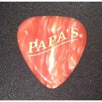 Custom The Original Papa's Faux Coral Casein Pick