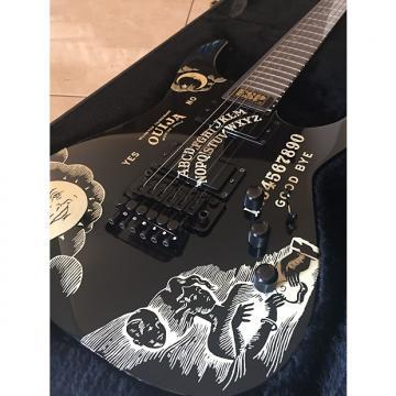 Custom Esp Kirk hammett ouija 2009 Black
