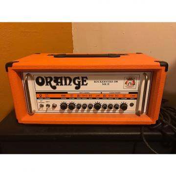 Custom Orange  Rockerverb MKII 100 Watt