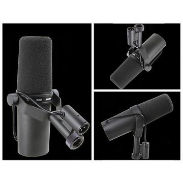 Custom Shure SM7B SM-7B Microphone with Both Windscreens (Open Box)