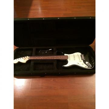 Custom Squier Stratocaster 2012 Black Left Handed