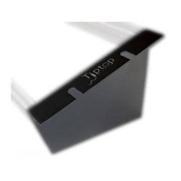 Custom Tiptop Audio Z-Ears Tabletop (Black, Pair) - Eurorack Module Rack Parts