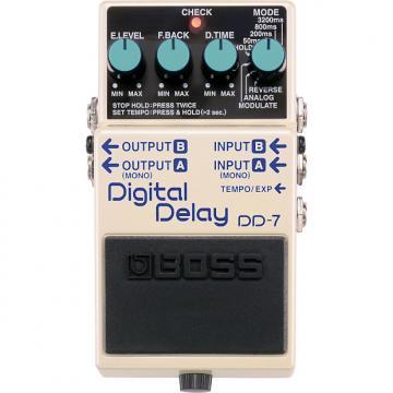 Custom Boss DD-7 Digital Delay 2017 White