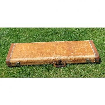 Custom 1958 1959 Fender Tweed Hard Case for Stratocaster, Telecaster, or Esquire