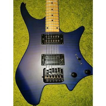 Custom Headless Ergonomic  Flamed Blue