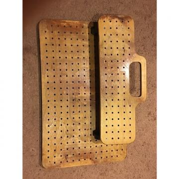 Custom Brown Natural Custom Pedal Board