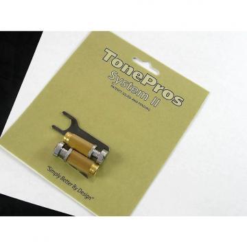 Custom Tone Pros System II SCS1 Locking US Tailpiece Studs Chrome SCS1/CH