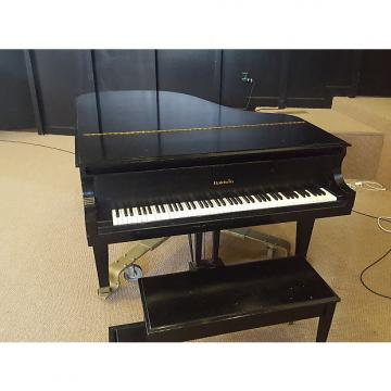Custom Baldwin Model L Grand (includes Bench and Dolly) 1979 Satin Black