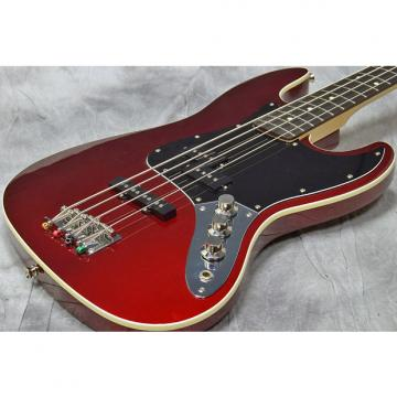 Custom Fender Japan Aerodyne Jazz Bass Candy Apple Red
