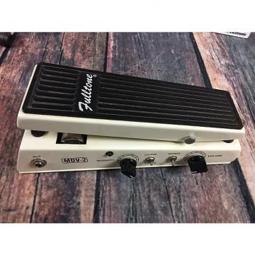 Custom Fulltone Mini Deja Vibe MDV-2 White with original box