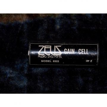 Custom Zeus Gain Cell 1970's