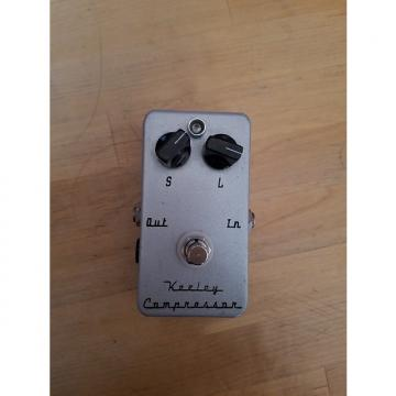 Custom 2 Knob Keeley Compressor 2003 Silver