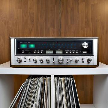 Custom Sansui 9090 Stereo Receiver- Excellent Condition with 60 Day Warranty