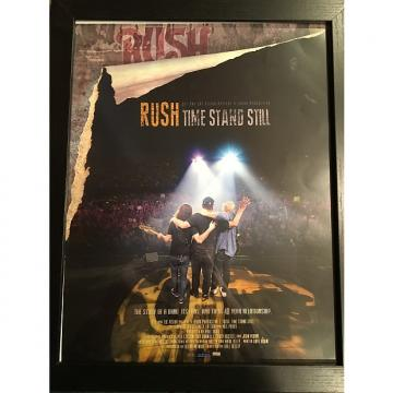 Custom Rush-Time-Stand-Still-Promo-Store-Poster-Rare-Framed