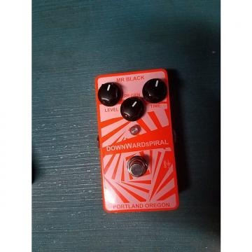 Custom Mr. Black Downward Spiral 2015 Bright Orange/White
