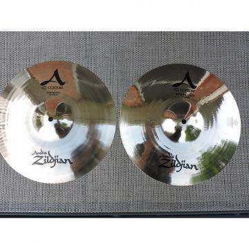 "Custom Zildjian 13"" A Custom Hi-Hat (Pair) brilliant"