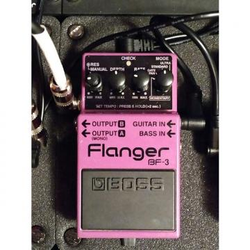 Custom Boss Flanger BF-3 Guitar Modulation Pedal   EVH