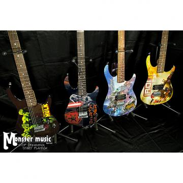 Custom Peavey Room full of Marvel Guitars 2016 - you get ALL FOUR guitars here.