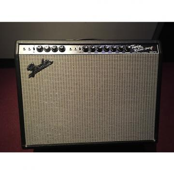 Custom Fender 65 Twin Reverb Reissue 85W 2x12 Guitar Combo Amp 2016 black