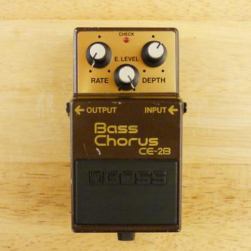 Custom Boss CE-2B Bass Chorus - Made In Japan - Great MIJ Bass Guitar Effects Pedal - GD to VG Condition!
