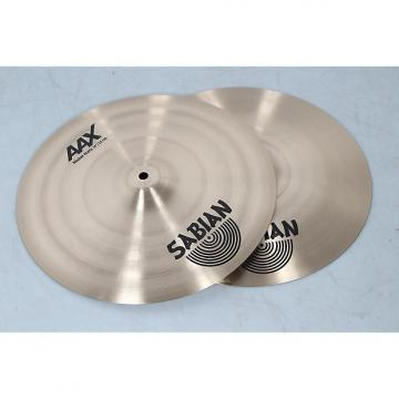 "Custom SABIAN 14"" AAX Metal Hi-Hats  Heavy Top/Extra Heavy Bottom"