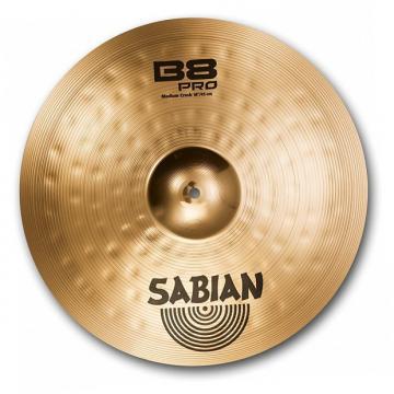 """Custom SABIAN 18"""" B8 Pro Med Crash Med"""