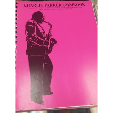 Custom Charlie Parker Omnibook - Transposed for B Flat Instruments