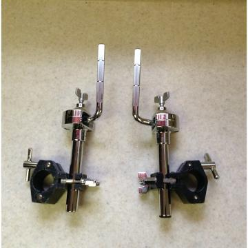Custom Pair of Gibraltar Rack Mountable 12.7 mm Tom Arms With Rack Clamps / 1 pair of these are available