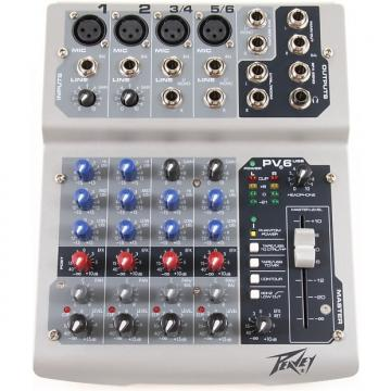 Custom Peavey PV6 6-channel Compact Mixer