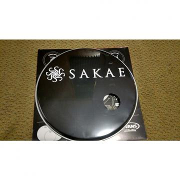 "Custom Sakae 16"" Bass Drum Head  Black"