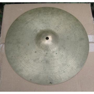Custom Zildjian 14 inch Hi Hats 1970's Hollow Logo Rock