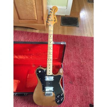Custom Fender Telecaster Deluxe 1974 Mocha Brown w/OHSC Vintage