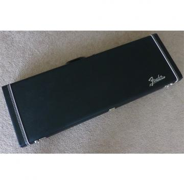 Custom Fender 1969 Reissue Hardshell Case Black Tolex and Chrome Badge Near Mint!