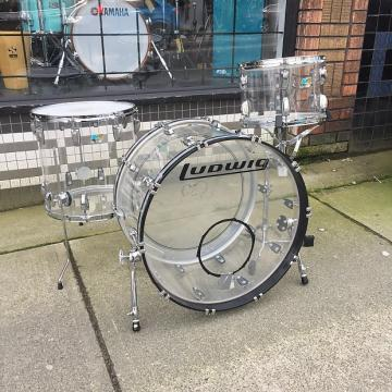 Custom Ludwig  Vistalite  2000's Clear