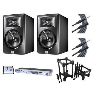 Custom 2x JBL LSR305 + Central Station PLUS + IsoAcoustics + Mogami Cables
