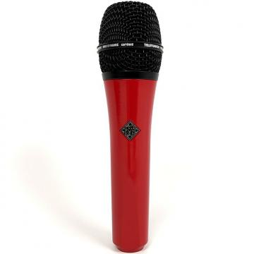 Custom Telefunken M80 Super Charged Dynamic Studio Vocal Live Microphone Red Black