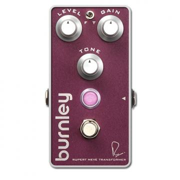 Custom Bogner Burnley Distortion Electric Guitar Effects Pedal