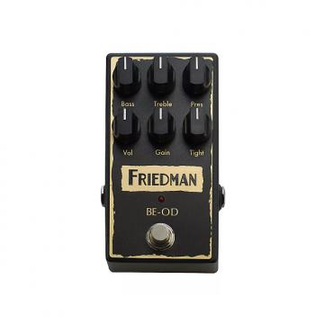 Custom Friedman BE-OD Overdrive Guitar Effects Pedal