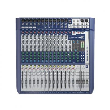 Custom Soundcraft Signature 16