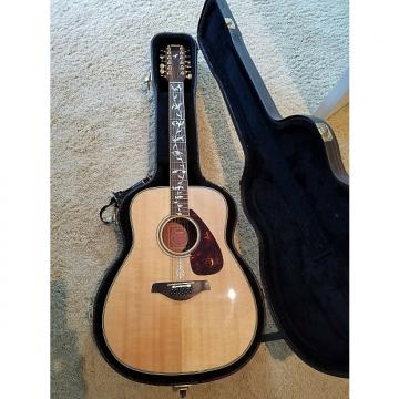 Custom Yamaha FG 720s-12  Beautiful 2011 Sitka Spruce, Mahogany, Rosewood neck w/vines