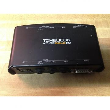 Custom USED TC Helicon VoiceSolo I/O interface box- shipping included