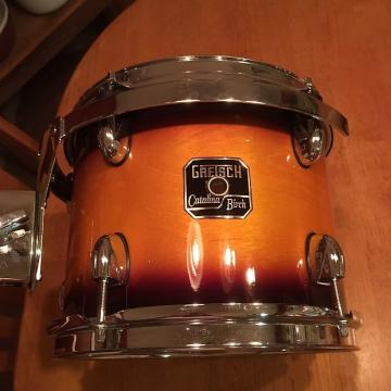 "Custom Gretsch Catalina Birch 10x8"" Rack Tom Sunburst"