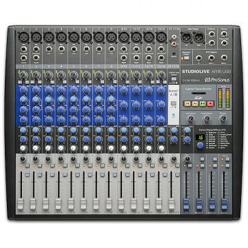 Custom Presonus - StudioLive AR16 USB 18-Channel hybrid Performance and Recording Mixer